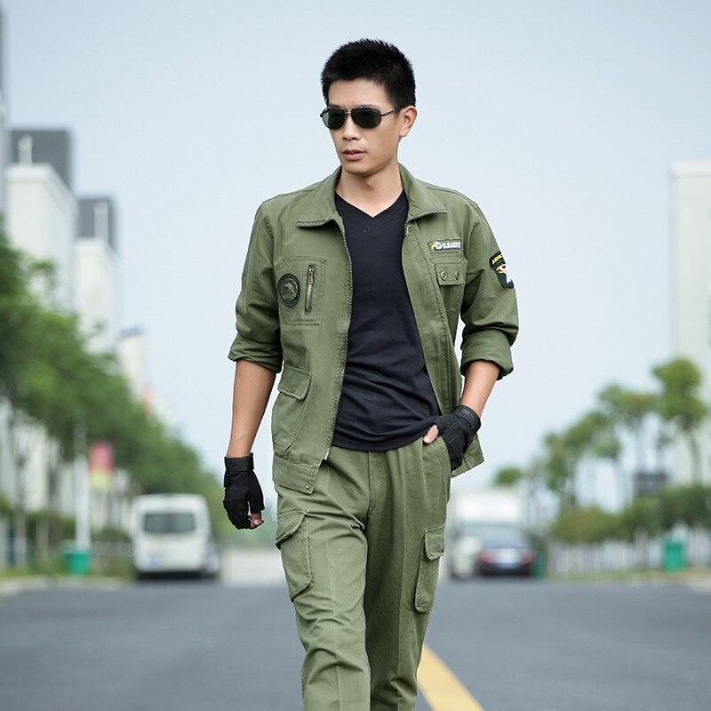 Uniforme militaire armée vert aigle uniforme militaire tactique vestes de Combat + Cargo pantalon costume CS Fardas vêtements militaires homme - 2