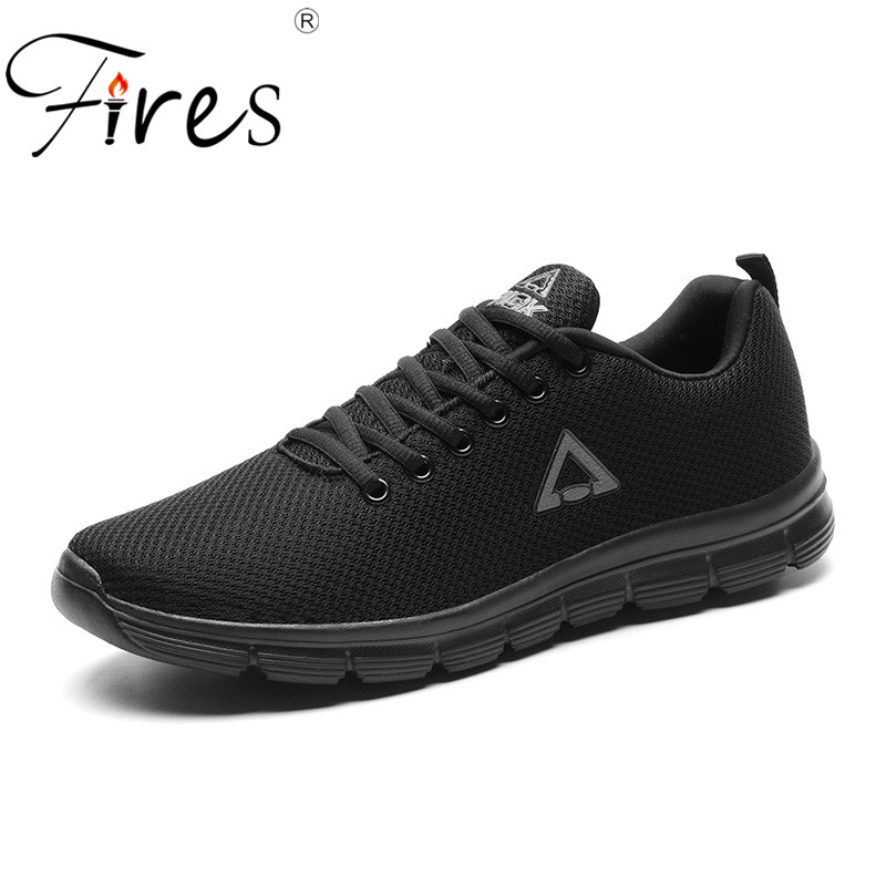 Fires Spring Sport Shoes For Men Comfortable Summer Walking Sneakers Outdoor Lightweight Jogging Shoes Lace-up Trainning Shoes
