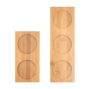 Image 3 - Wituse Bamboe Thuis Mini Wereld Tuin Decoratie Pot Trays Miniatuur Beeldjes Bloempot Voor Keuken Huishoudelijke Opslag Items