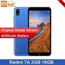 """원래 새로운 xiaomi redmi 7a 스마트 폰 5.45 """"snapdargon 439 4000 mah 배터리 2 gb 16g octa core 12mp 글로벌 버전 빠른 배송"""