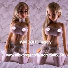 WMDOLL 100 cm silikonowe lalki Sex z metalowego szkieletu w pełnym rozmiarze realistyczne duże piersi pochwy cipki lalki miłości dorosłych Sexy lalki