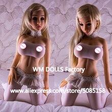 WMDOLL 100 cm סיליקון סקס בובות עם מתכת שלד מלא גודל כמו בחיים חזה גדול כוס נרתיק אהבת בובות למבוגרים סקסי בובות