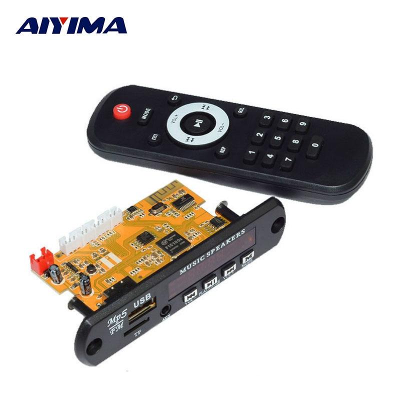 Aiyima DTS Lossless Decoding Bluetooth Receiver Board MP4 /MP5 Audio HD Video Decoder APE WAV MP3 Decoder Board