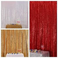 8x8FT Pink Gold/Champagne Sequin Stage Curtain Wedding Photo Booth Backdrops for photography studio/Party/Christmas Decor CR65