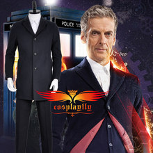Doctor Who The Twelveth 12th Doctor Peter Capaldi Uniform Jacket Coat Shirt Vest Pants For Adult Cosplay Costume Custom Made lewis capaldi