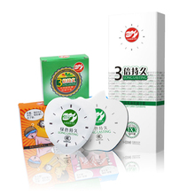 Pleasure more 9 Pieces 3X Long Lasting Condom, Men delay anti premature ejaculation lasting Safe Latex Condom, Sex Products
