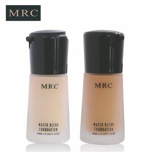 Image 2 - MRC Full Coverage Make Up Fluid Concealer Whitening Moisturizer Oil Control Waterproof Liquid Foundation Base Makeup