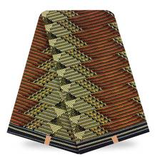 Nigéria Garantido Verdadeira Cera Real Cera Tecido Batik Africano Tecido de Alta Qualidade Africano Ankara Wax H17020906