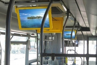 17 19 22inch Bus Advertising LED Television Lcd Tft Bus Monitor With HD LCD/LED Screen Pc For Advertising