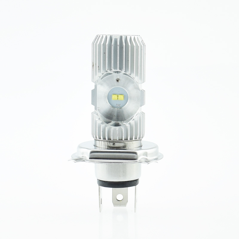 Motorcycle Headlight LED Bulbs Super Bright Motorbike Light Bulb Moto Lights H4 HS1 BA20D P15D-25-1 Hi/Lo Motor Bike Head Lamp