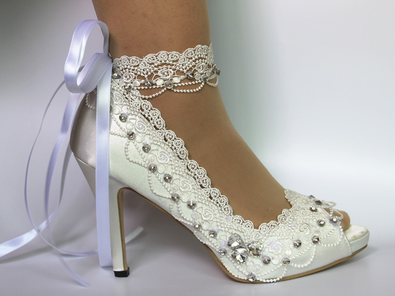 Maid Of Honor Bridesmaid Mother Of The Bride Wedding Shoes High