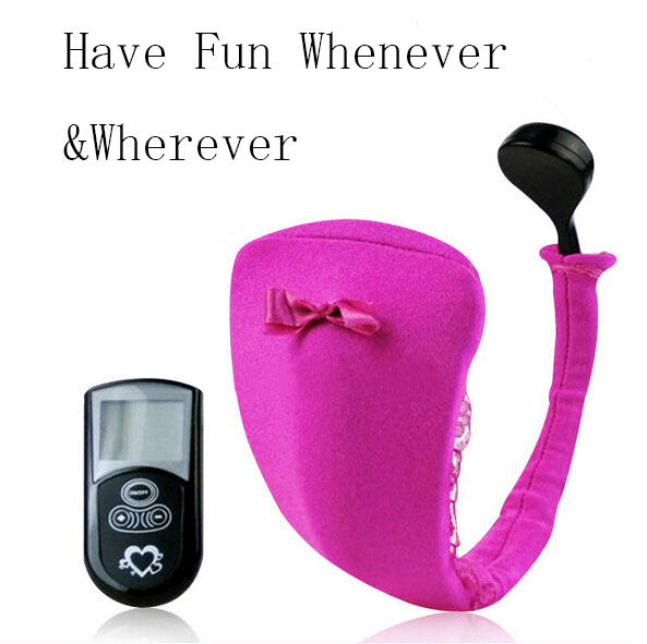 Wireless Remote Control 10 Speeds Invisible Vibrating C String Panties Underwear Massager Innovative Sex Toy For Women Have Fun
