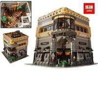 Лепин 15015 5003 шт. город музей динозавров Конструкторы кирпич Забавные игрушки Совместимость