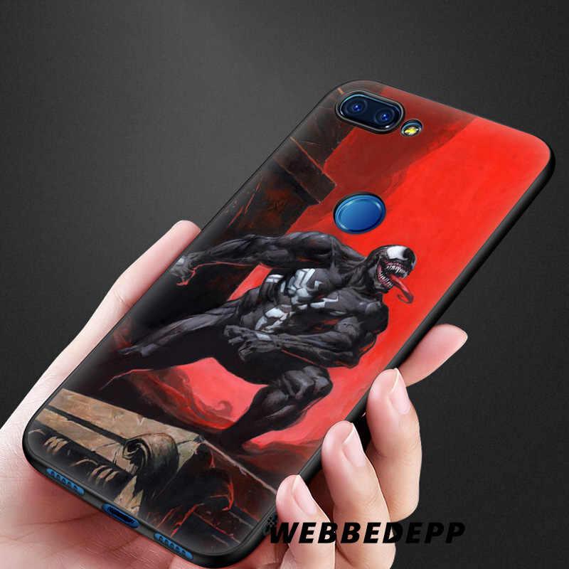 WEBBEDEPP Venom Comics Spider man Soft Silicone Case for Xiaomi Redmi Note 7 6 6A 5 4 4X 4A 5A 5 S2 Plus Pro Lite