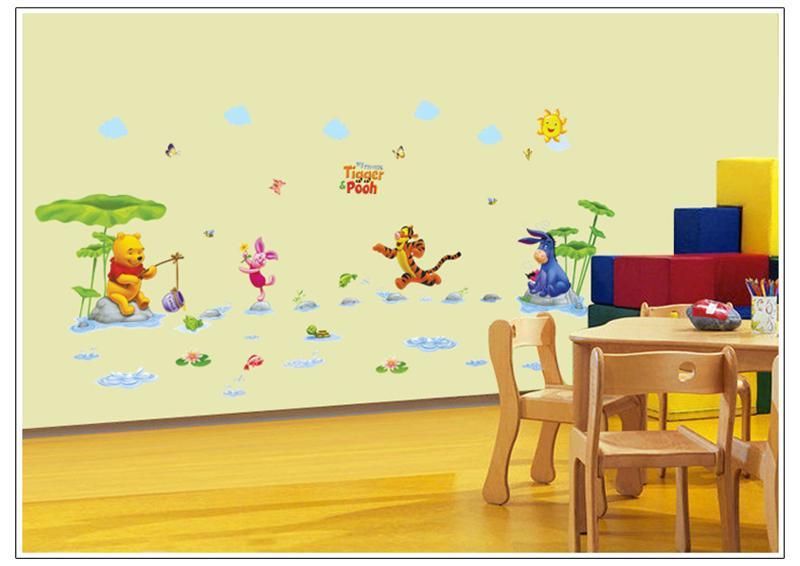 HTB1r7DLKpXXXXbrXVXXq6xXFXXXy - Animals zoo cartoon Winnie Pooh wall sticker for kids room