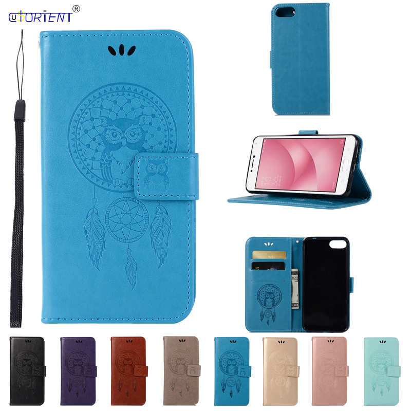 PU Leather Case for ASUS Zenfone 4 Max ZC520KL X00HD ZC 520KL <font><b>ZC520</b></font> <font><b>KL</b></font> Case Phone Cover for ASUS_X00HD Zenfone 4 Max Flip Cases image