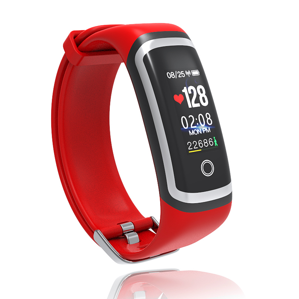 Multifunctional Smart Bracelet Sport Wristband Heart Rate Blood Pressure Calorie Sleeping Monitoring Remote Photo Taking