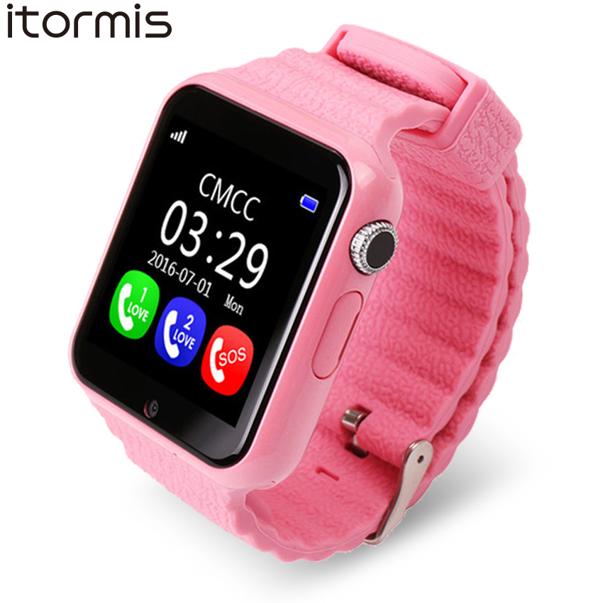 ITORMIS Baby Smart Watch V7 Children Kids Security Safety GPS Location Finder Tracker Waterproof Phone Call SOS for iOS AndroidITORMIS Baby Smart Watch V7 Children Kids Security Safety GPS Location Finder Tracker Waterproof Phone Call SOS for iOS Android