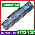 8800 mah batería del ordenador portátil para acer 5532 5732 7315 7715 travelmate 4740ZG eMachines D525 D725 E525 E527 E625 E627 E630 E725 E727