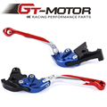 GT Motor - F-18/H-33 Adjustable CNC 3D Extendable Folding Brake Clutch Levers For Honda CBF1000/A 2010-2013  CB 1300/ABS