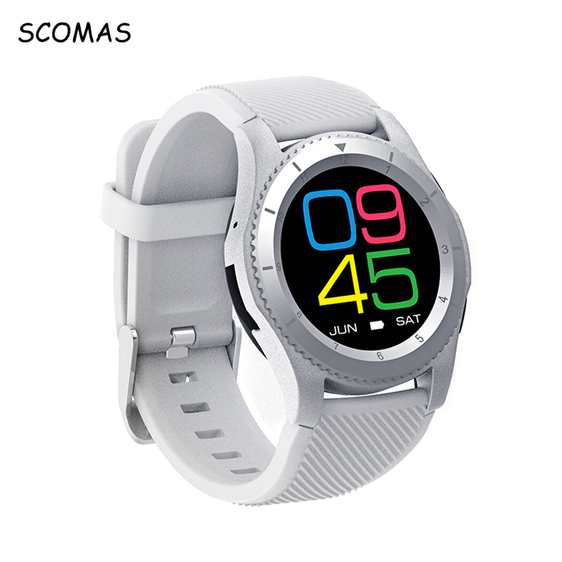 SCOMAS G8 Sports Woman Smart Watches Clock Heart Rate Monitor Fitness Tracker with SIM Card Smartwatch Phone for IOS Android bluetooth sports heart rate monitor watches outdoor fitness tracker for ios android phone