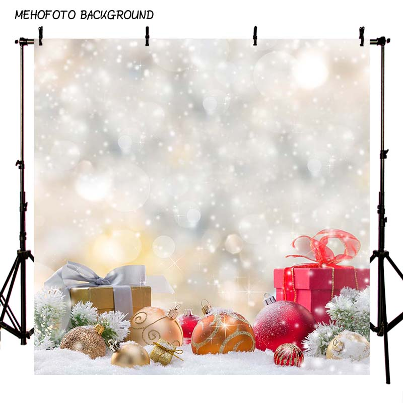 MEHOFOTO 10x10FT New Christmas Custom Photography Background Photo Backdrops for Photo Studio ST-089 mehofoto 8x12ft vinyl photography background christmas theme backdrops light for children snow for photo studio st 328