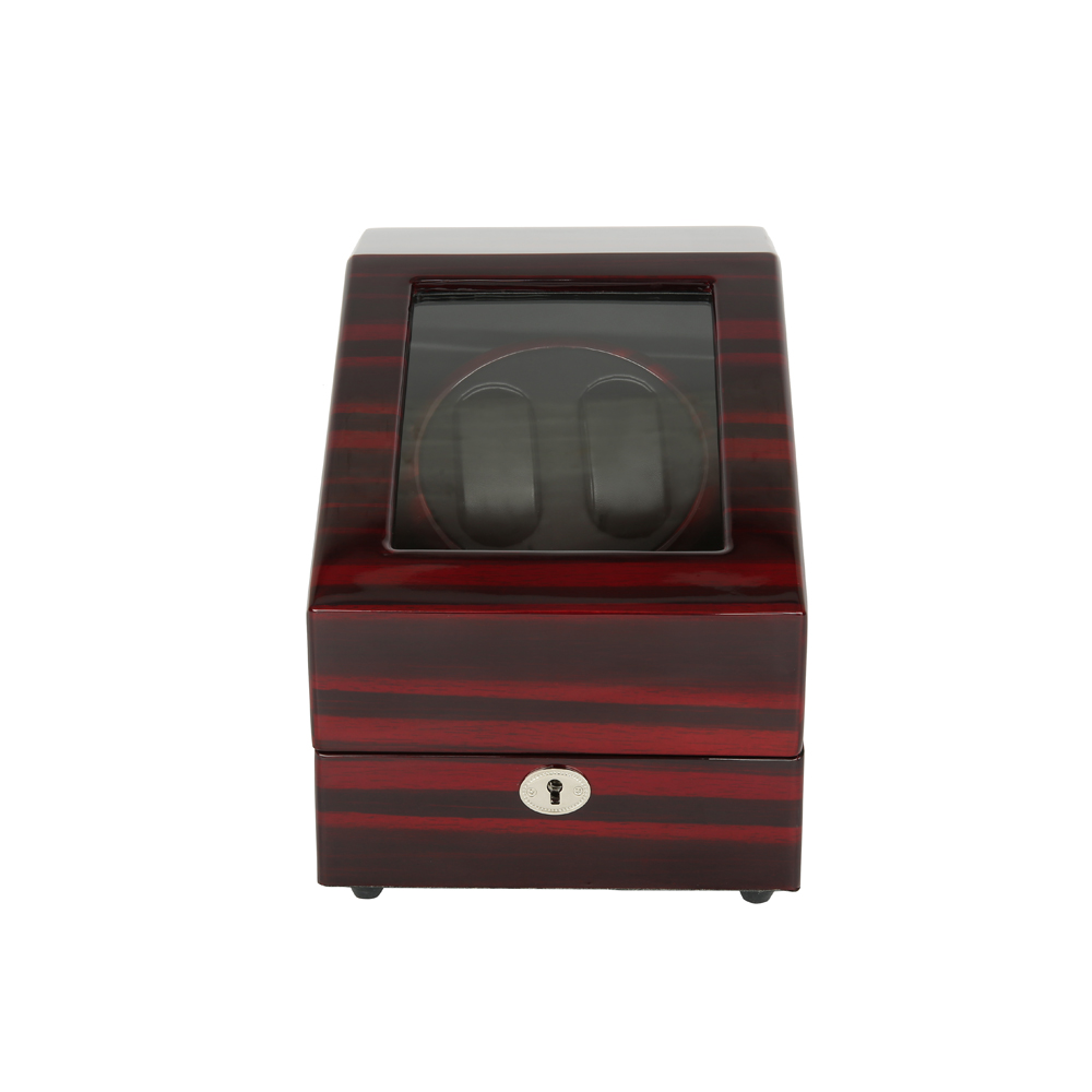 Luxury Watch Winder ,LTCJ Wooden Automatic Rotation 2+3 Watch Winder Storage Case Display Box (RB) ultra luxury 2 3 5 modes german motor watch winder white color wooden black pu leater inside automatic watch winder