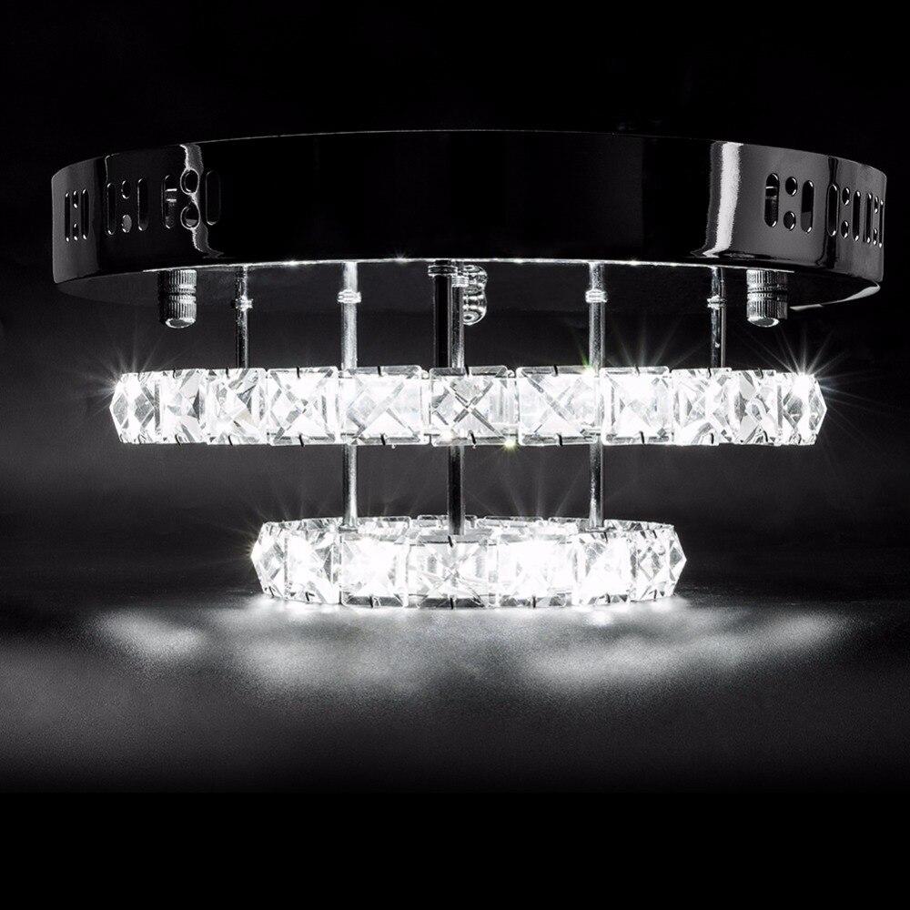 cristal led luzes de teto restaurante ktv 01