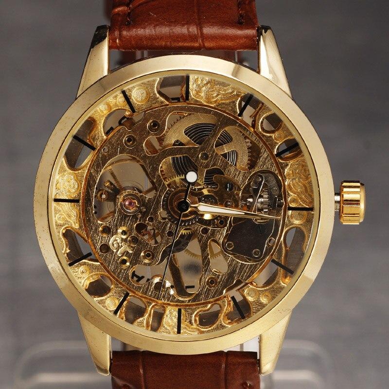 SEWOR Značka Skeleton Mechanical hodinky Muži Luxusní Pánské - Pánské hodinky