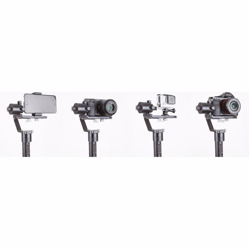 Zhiyun Gimbal jeřáb V2 3-osý přenosný ruční kardanový - Videokamery a fotoaparáty - Fotografie 5
