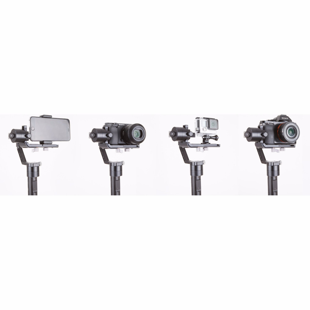 Zhiyun Gimbal Crane V2 3-Axe Bluetooth Handheld Gimbal Stabilizator - Camera și fotografia - Fotografie 5