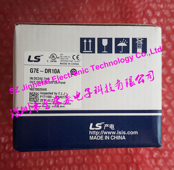 100% New and original  G7E-DR10A  LS(LG) PLC  DC24V,6 point input/Relay 4 point output extension