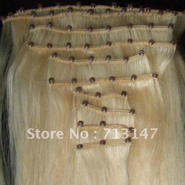 Human hair micro ring weft ez ring loop hair extensions 613 in human hair micro ring weft ez ring loop hair extensions 613 in silk straight pmusecretfo Gallery