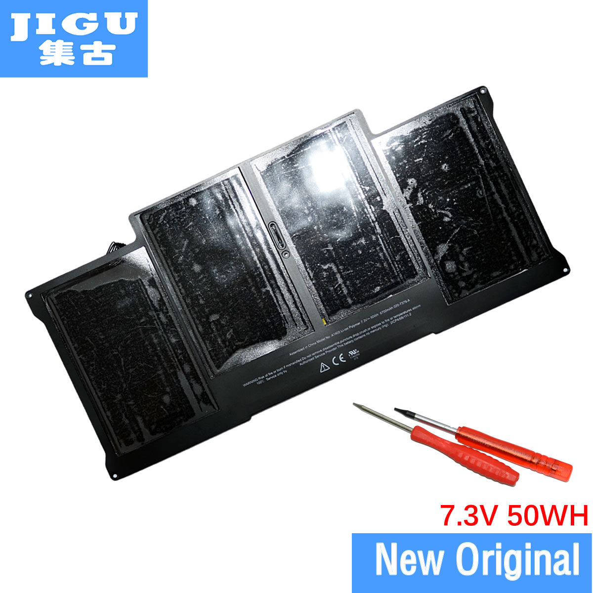 JIGU Special Price Brand New Original Genuine Battery A1405 for apple For MacBook Air 13 A1369 year 2011 & A1466 стоимость