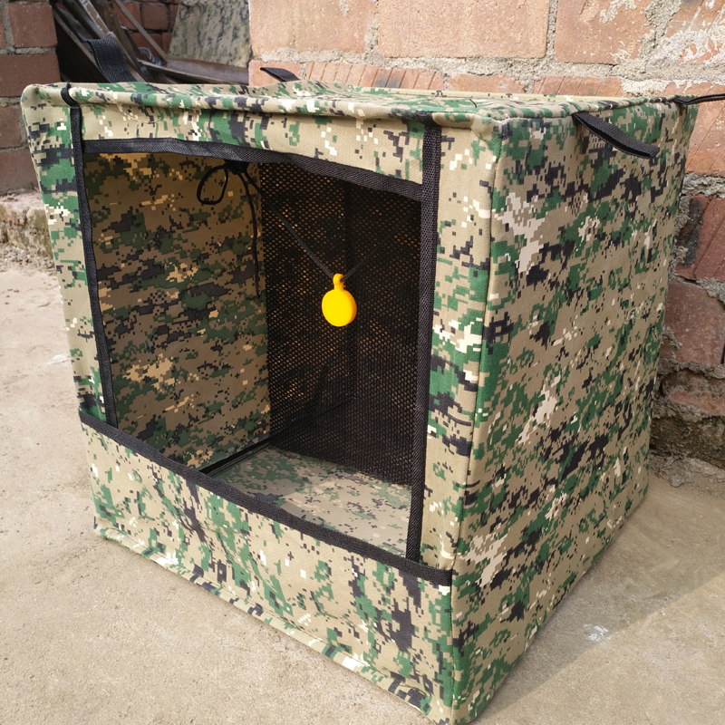 Target Slingshot Camouflage Box Recycle Ammo Portable Jagd für Praxis Ziel