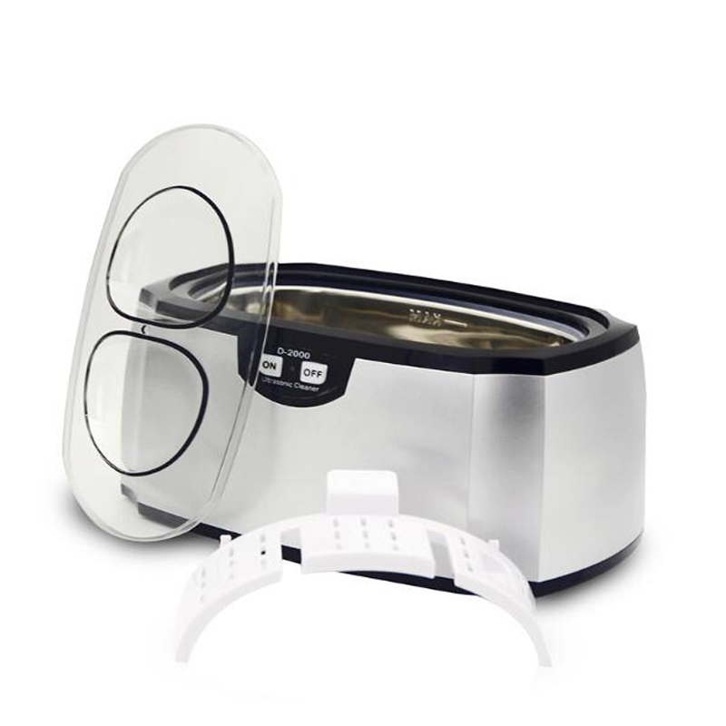 Household Mini Ultrasonic Cleaning Machine Glasses Watch Small Jewelry Cleaner D-2000Household Mini Ultrasonic Cleaning Machine Glasses Watch Small Jewelry Cleaner D-2000