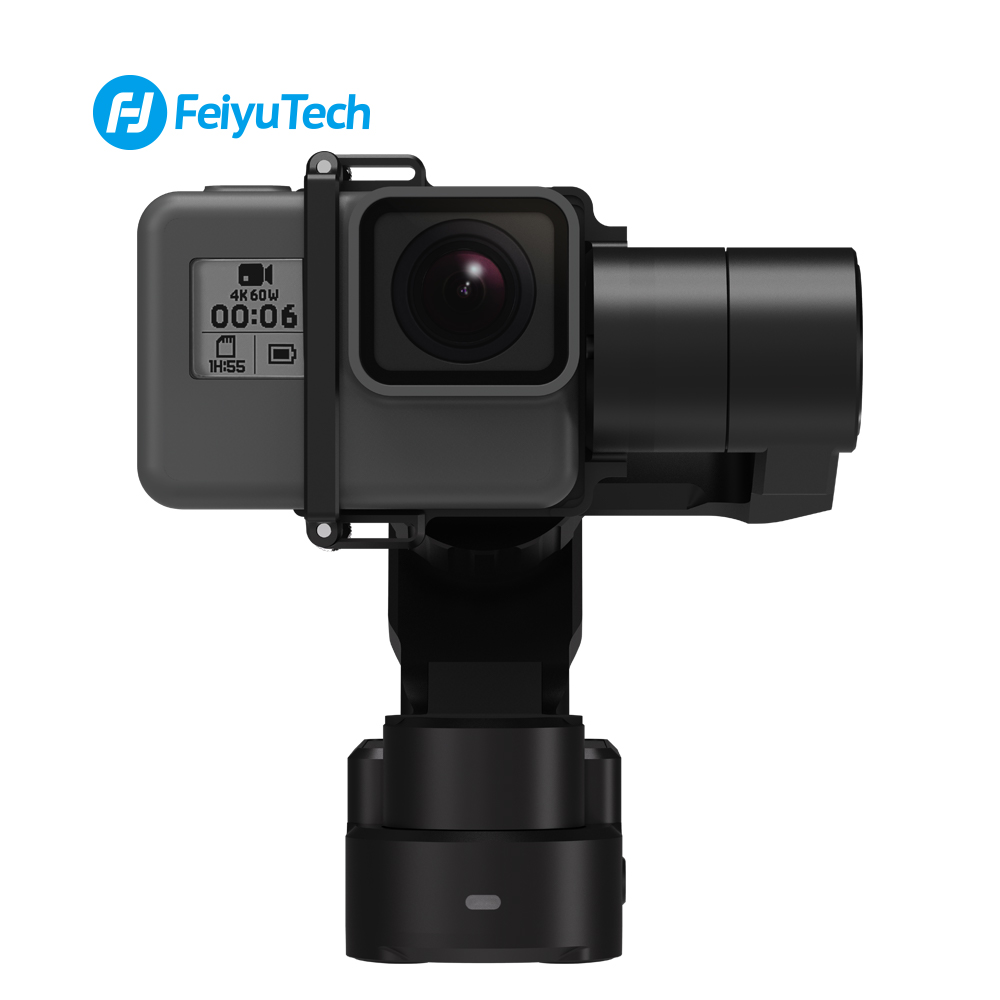 FeiyuTech Feiyu WG2X Gimbal Stabilizer Wearable Mountable 3-axis Waterproof for Go Pro 6 4 5 Session YI 4K SJCAM Action Camera