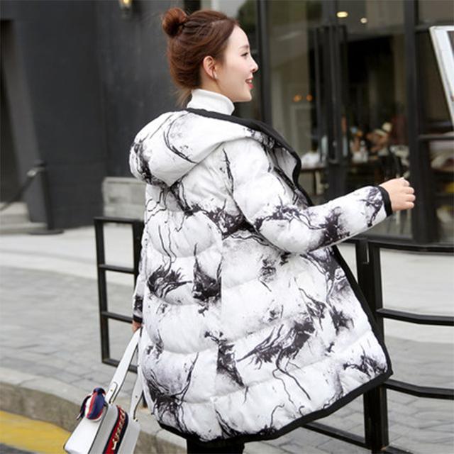 Maternidad abrigo de invierno medio-largo espesar ropa de algodón acolchado escudo abrigos para mujeres embarazadas embarazo warm