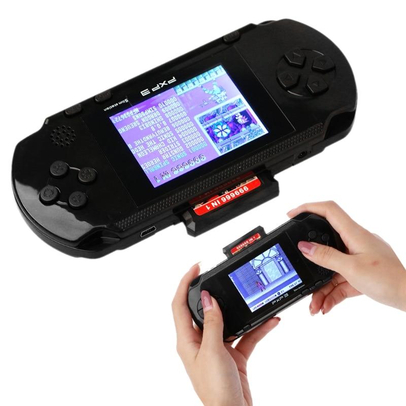 16 Bit Handheld Game Console Portable Video Game 150 Games Retro Megadrive PXP New