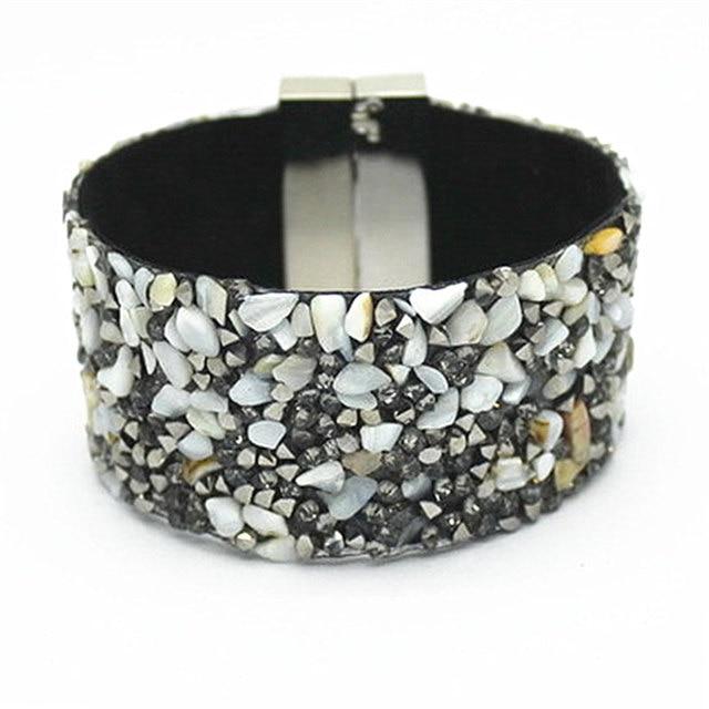 Leather Bracelet Cuff...