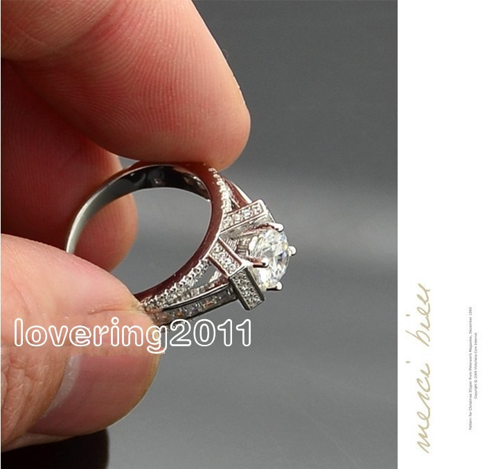 Size 5678910 Eiffel Tower Free shipping Jewelry 925 sterling