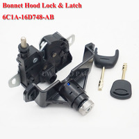 FOR FORD TRANSIT MK7 BONNET LOCK AND LATCH WITH 2 KEYS 2006 2011 BRAND 6C1A 16D748 AB