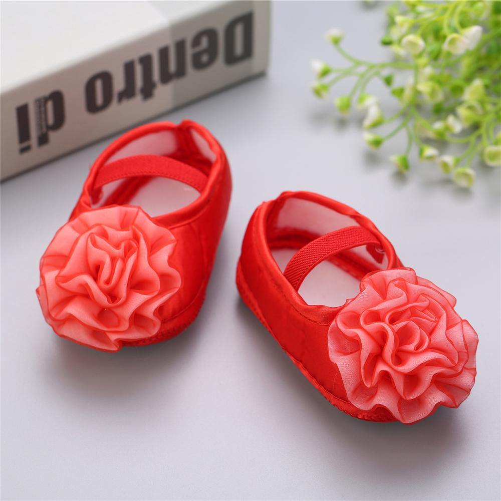 Spring And Autumn And Winter New 0 1 Years Old Baby Shoes Girls Princess Shoes Newborn Children's Shoes