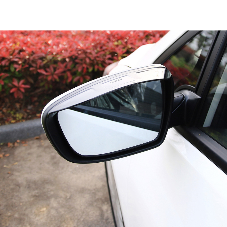 Lsrtw2017 Abs Half Transparent Car Rearview Rain Shade Panel Trims for Kia K3 Kia Cerato 2012 2013 2014 2015 2016 2017 2018 in Interior Mouldings from Automobiles Motorcycles