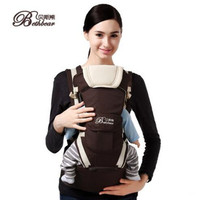 BethBear 8 In 1 Ergonomic Baby Carrier Sling 2017 Breathable Baby Kangaroo Hipseat Backpacks Carriers Removeable