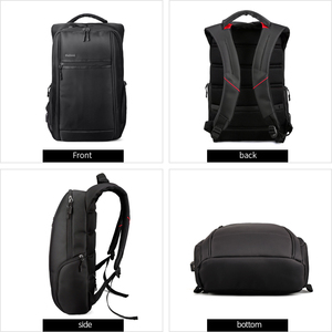 Image 2 - Padieoe 2018 New Designer Canvas Laptop Backpack for Travel Fashion Men Daypack Charging card High Quality Stylish Male Backpack