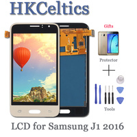 j120f lcd For SAMSUNG GALAXY J1 2016 LCD J120 J120f J120M J120H Display + Touch Screen Digitizer Display for Samsung j120f LCD