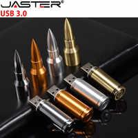 Lecteur de stylo en métal JASTER USB 3.0 lecteur Flash USB 4GB 8GB 16GB 32GB 64GB carte Flash disque Flash bâton de mémoire avec porte-clés