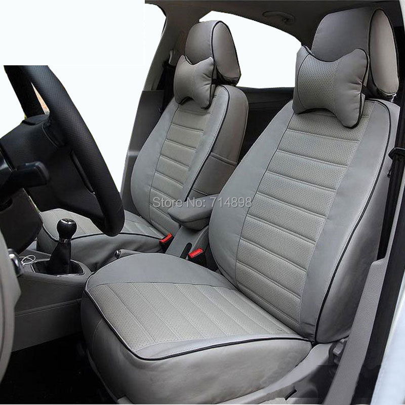 Carnong Car Seat Cover Pu Leather Proper Fit For Vw Caddy Maxi 7 Seater Same Structure As Original Auto In Automobiles Covers From