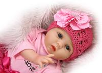 Silicone reborn baby doll toy high-end newborn